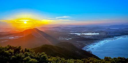 苏峰山看日落